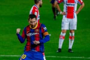 Messi glich mit einer anderen Auszeichnung Maradona aus