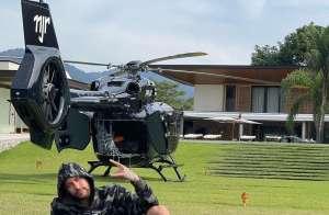 內馬爾吹噓一架直升機 10 萬