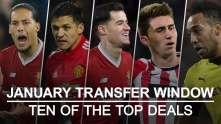 Premier League: Das gesamte abgeschlossene Transferfenster im Januar