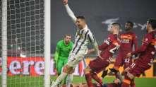 Ювентус также заменит Рому в турнирной таблице, Роналду забьет первый гол в 36 лет.