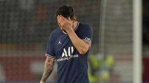 Messi no está acostumbrado a que lo sustituyan