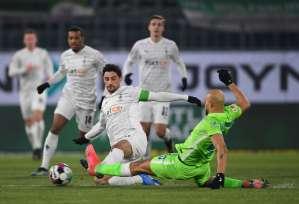 Боруссия Менхенгладбах завершила победную серию Вольфсбурга