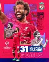 Mohamed Salah ha battuto un altro record per il Liverpool