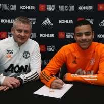 Greenwood verlängerte den Vertrag mit Manchester United bis 2025