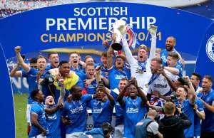 Rangers freuten sich über den Titel und beendeten die Saison ohne Niederlage