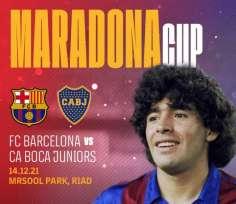 Rasmi: Barcelona na Boca Juniors watacheza kwa heshima ya Maradona