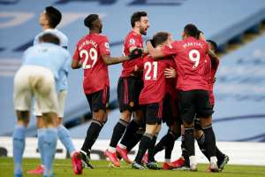 Man United triumphed in the city derby and ended City's winning streak