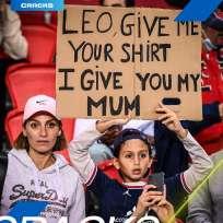 Un bambino ha offerto sua madre in cambio della maglietta di Messi