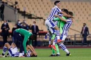 Real Sociedad holte sich nach einem Sieg über Athletic Bilbao den King's Cup