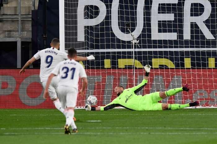 El Real Madrid marcó 3 goles en 10 minutos y salió primero en La Liga
