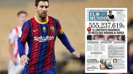 Messi atafungua kesi dhidi ya El Mundo