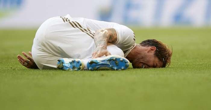 Sergio Ramos wurde mindestens sechs Wochen lang operiert