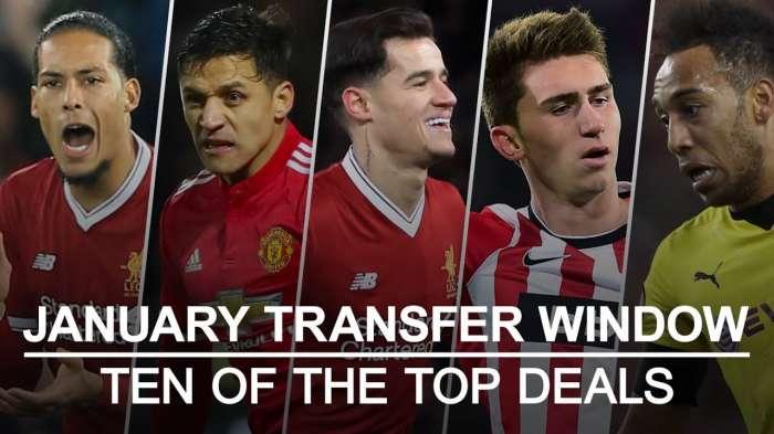 Premier League: toda la ventana de transferencia de enero completada