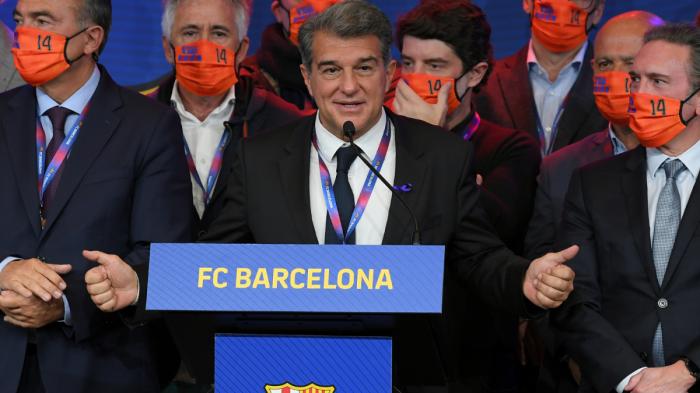 Joan Laporta est le nouveau président de Barcelone (résumé)