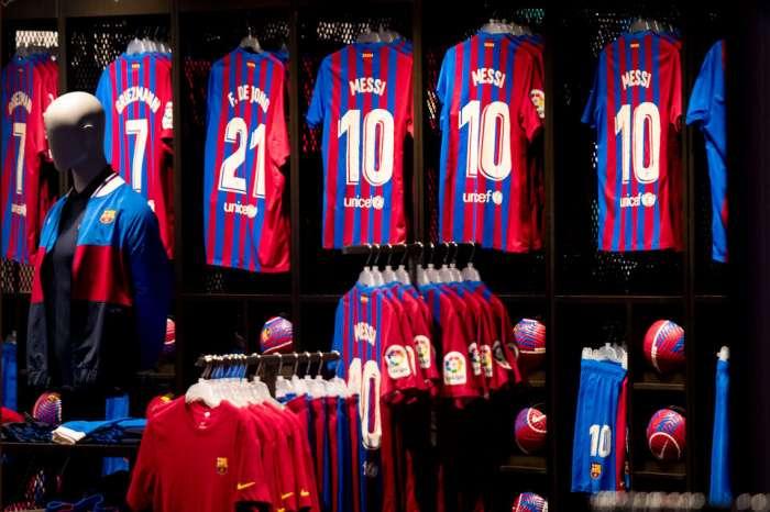 Fans von Barcelona kaufen en masse T-Shirts von Leo Messi