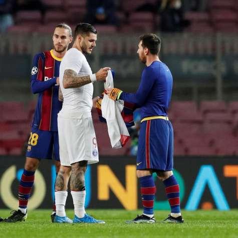 Après l'humiliation: Lionel Messi a échangé des maillots avec l'as du PSG