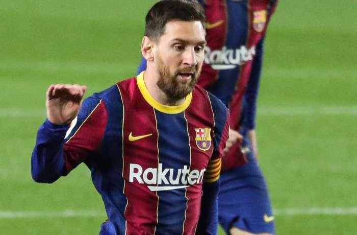 Xavi felicitó a Messi por el récord empatado