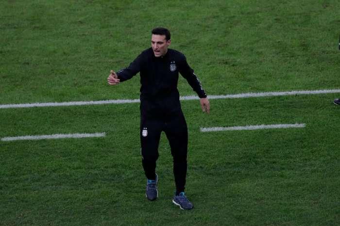 Scaloni: Messi jugó la final con una lesión en la pierna