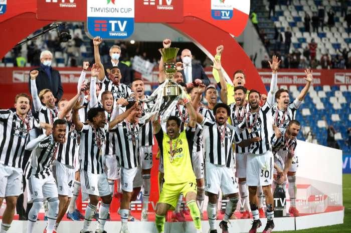 La Juventus a triomphé avec la Coupe d'Italie