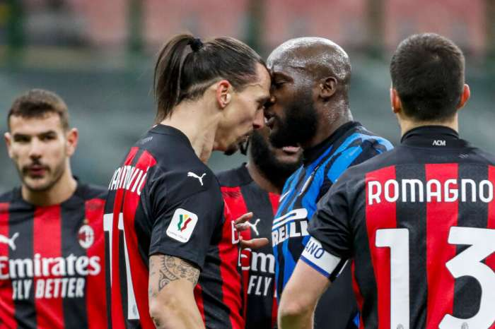 Ibrahimovic and Lukaku were fined for the quarrels