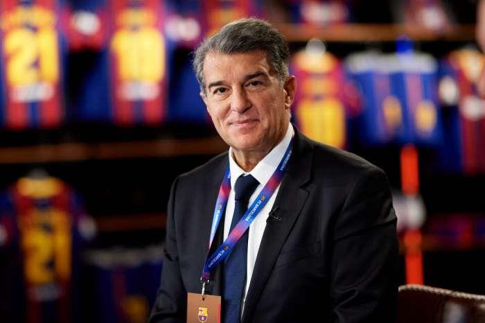 拉波特現任巴塞羅那官方主席,梅西出席頒獎典禮