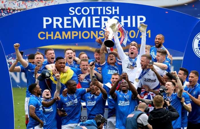 I Rangers si sono rallegrati del titolo, concludendo la stagione senza subire perdite