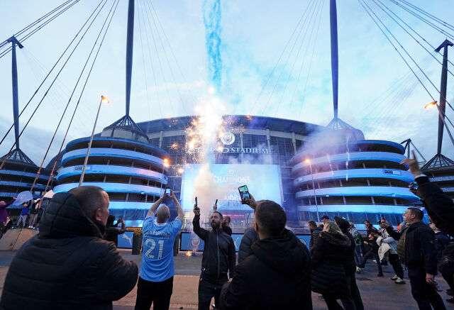 Болельщики Манчестер Сити отметили титул