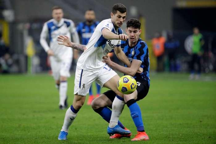 Интер одержал седьмую подряд победу в Серии А над Аталантой