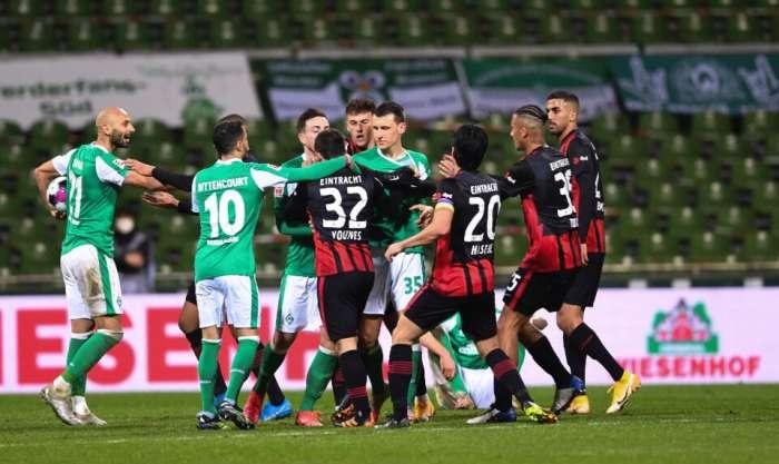 VAR,VAR,VAR和Werder轉為Eintracht