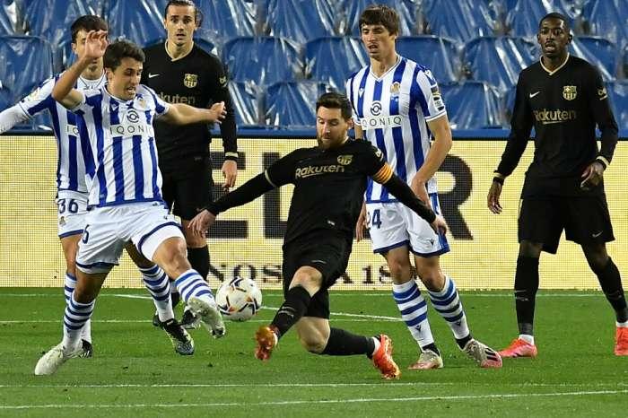 Lionel Messi avec une réalisation étonnante
