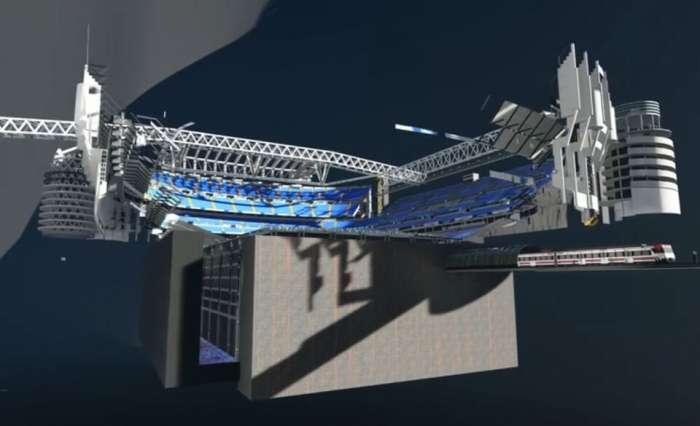 El Santiago Bernabéu debería estar listo en septiembre de 2022