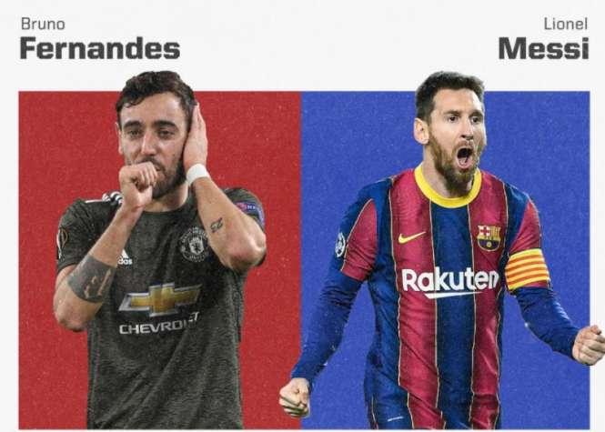 布魯諾·費爾南德斯(Lunnel Messi)僅1個進球