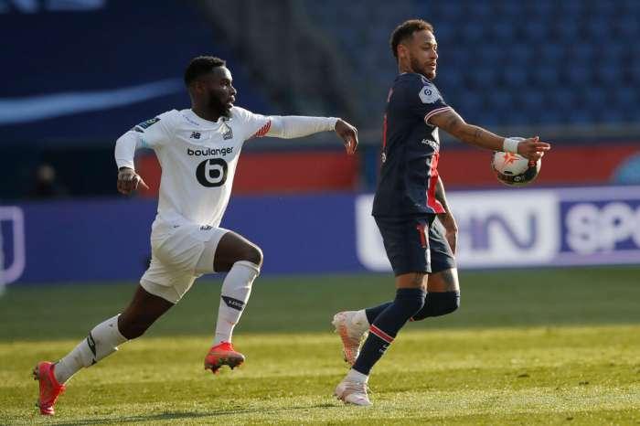 里爾(Lille)用紅牌和PSG,內馬爾(Neymar)領跑了德比
