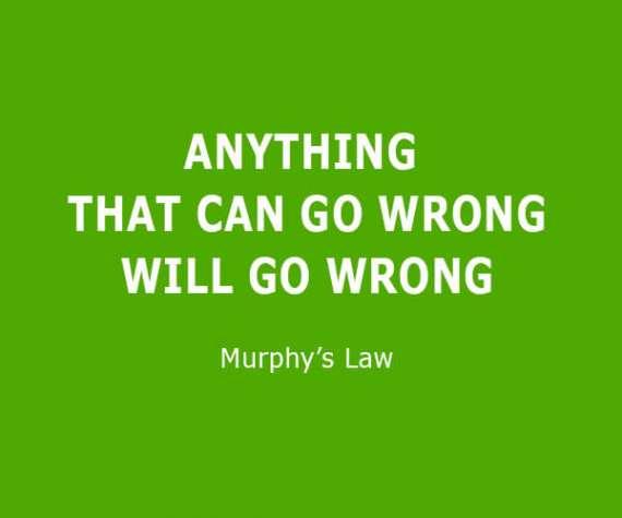 Les 10 lois de Murphy sur les pronostics de football et les paris