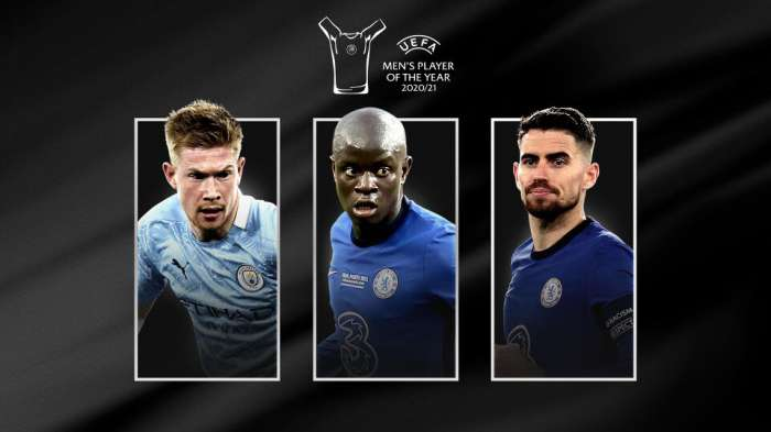 L'UEFA annonce le nominé pour le joueur de l'année