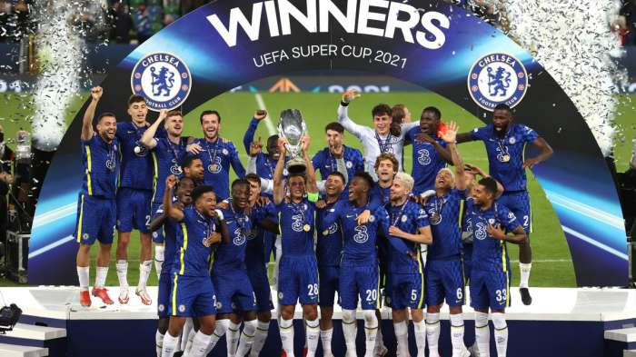 Chelsea est le nouveau super champion d'Europe