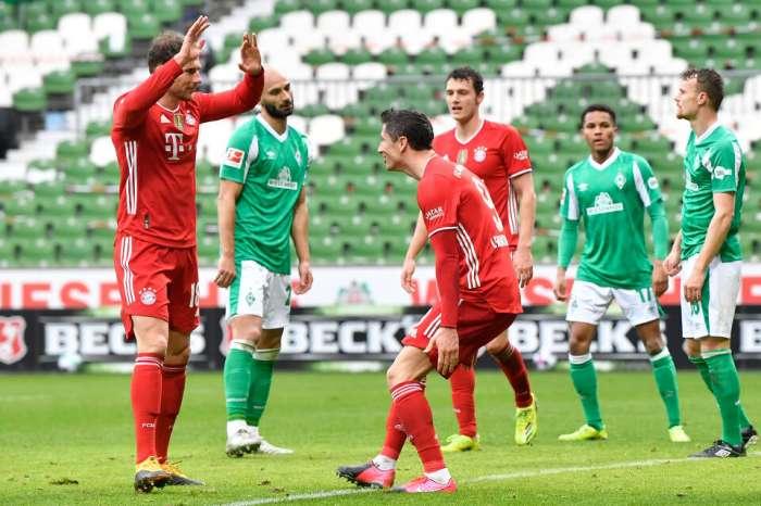 El Bayern pasó por el Werder sin problemas y se adelantó con 5 puntos en la Bundesliga